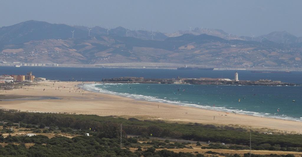 Las playas de Tarifa desde la costa del sol