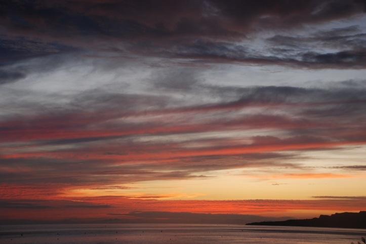 Puesta del sol en Tarifa Foto HNK