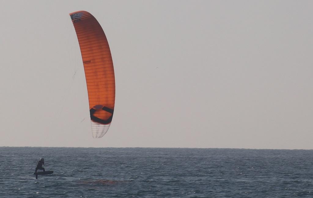 kite foil racer in tarifa photos HNK