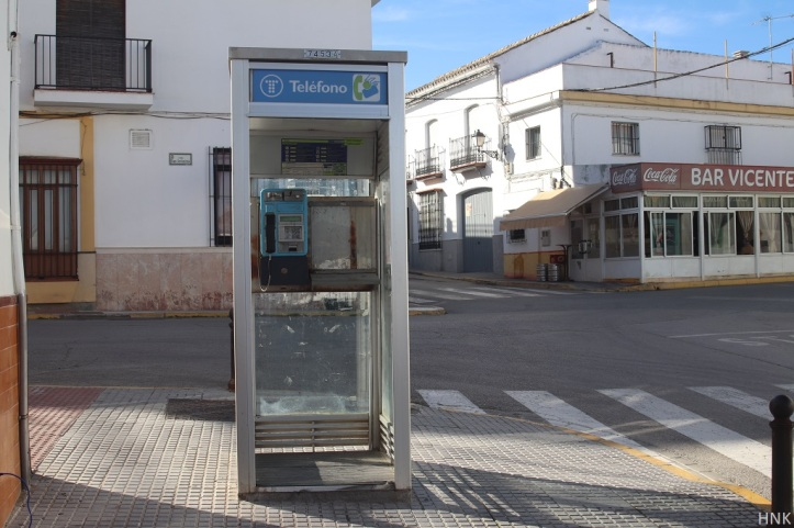 Cabina de teléfono Bornos