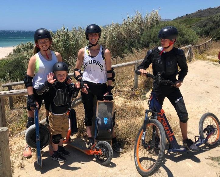 Deportes alternativas  para miembros de la familia que no practican kitesurf