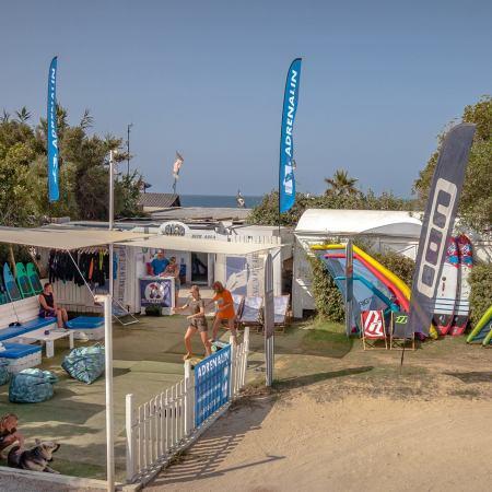 Escuela de kitesurf Adrenalin en Valdevaqueros