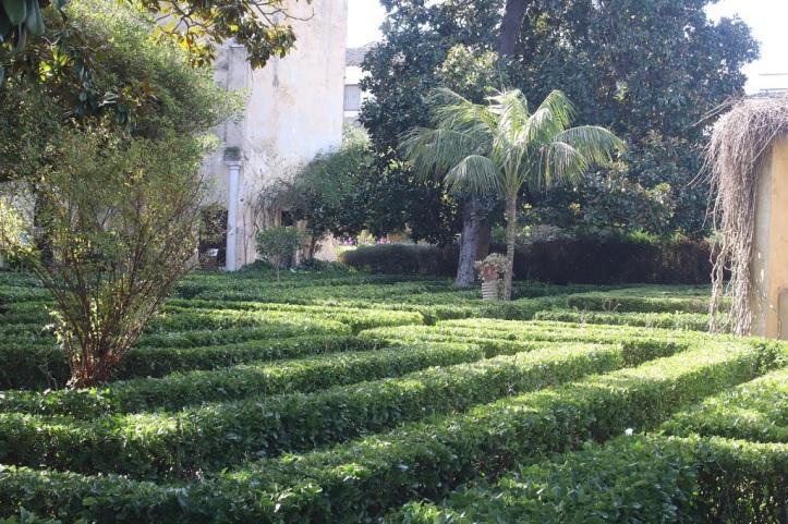 Jardin Palacio de los Ribera Bornos