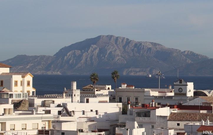 Las famosas vistas de Tarifa