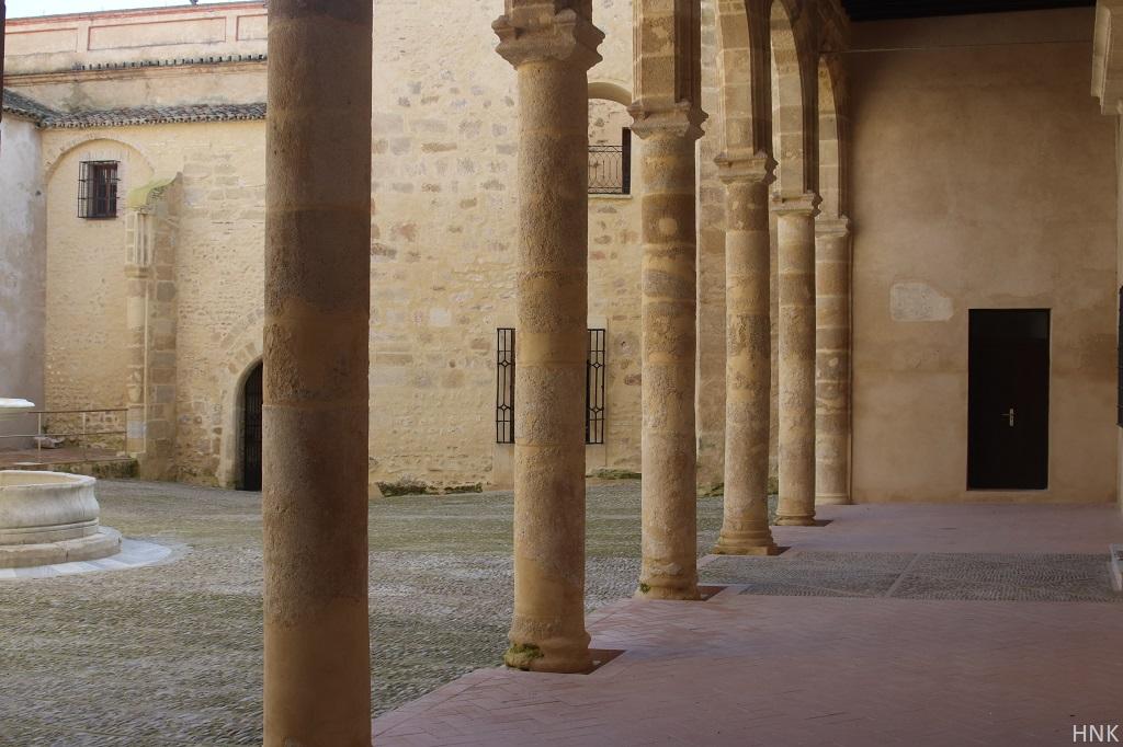 Patio Palacio de los Ribera