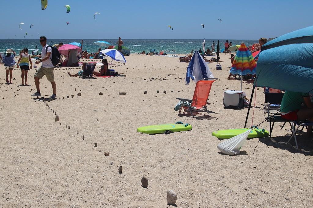 Como Crear Tu Territorio En La Playa. Consejos desde Tarifa