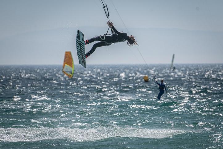Kitesurfer independiente