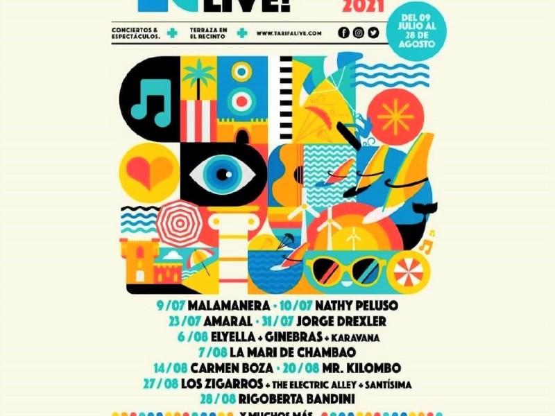 Tarifa Live Conciertos de Verano 2021